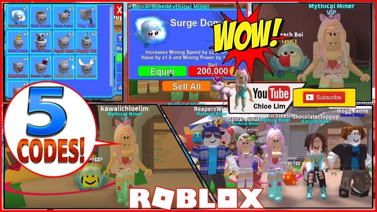 How To Equip Eggs In Roblox Mining Simulator