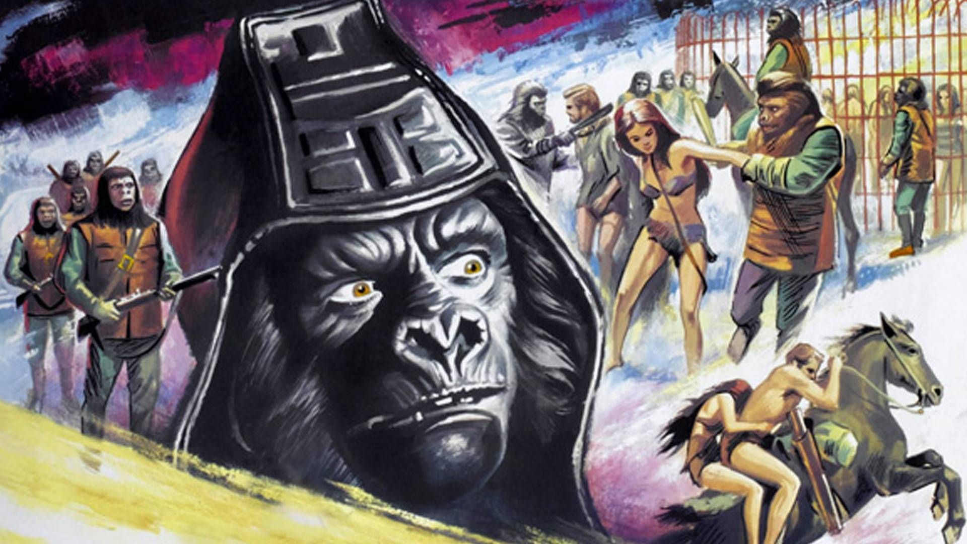 Beneath The Planet Of The Apes Wallpaper Science Fiction