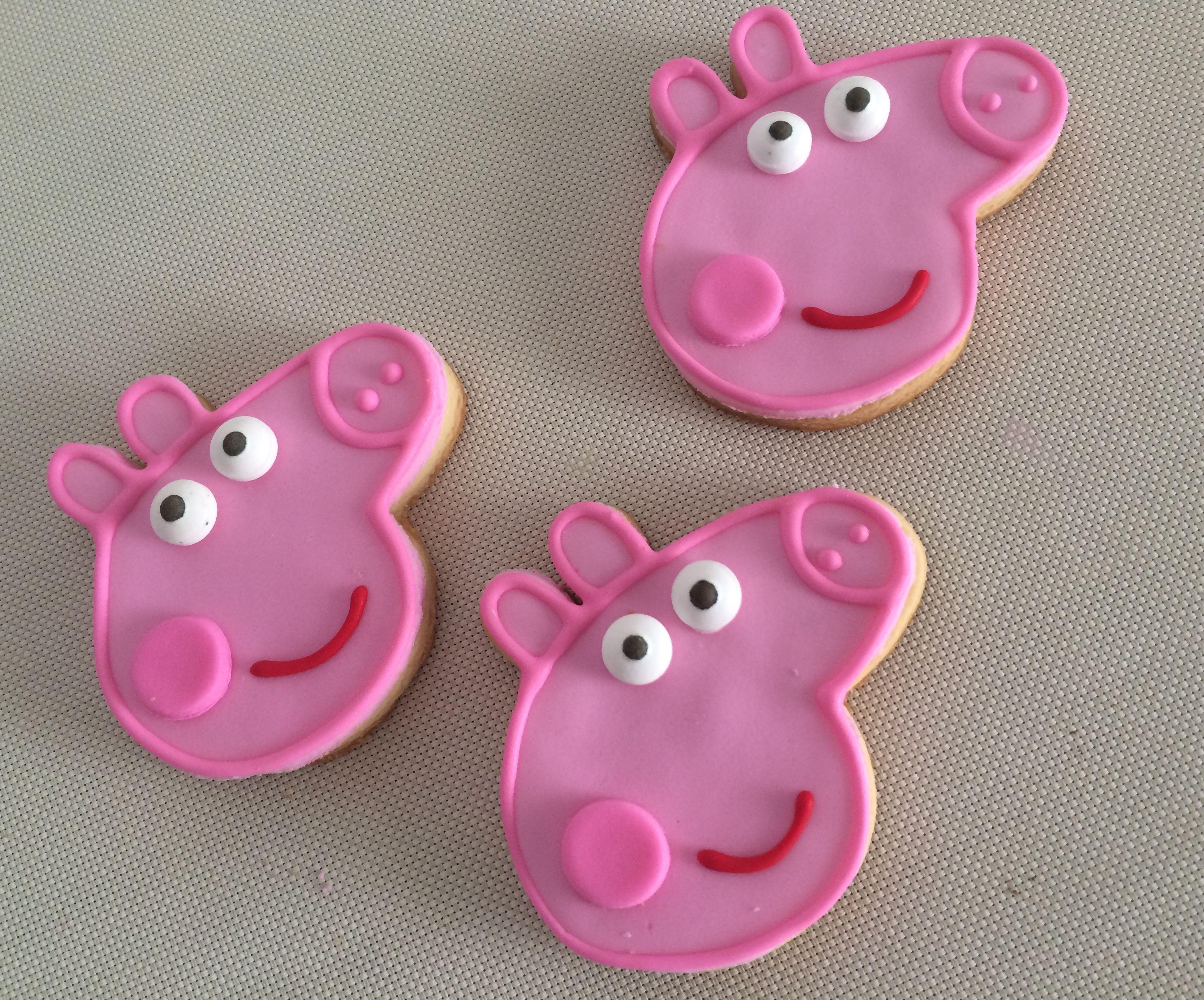 Peppa Pig Cookies  Violeta Glace