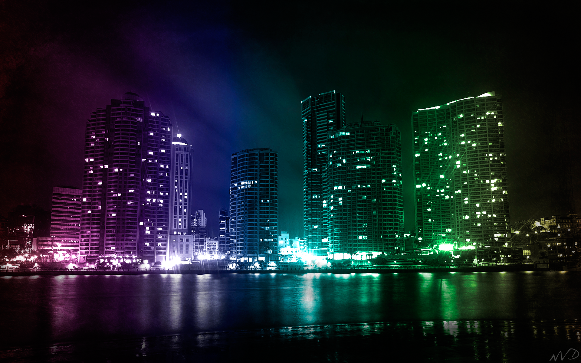 beautiful city lights hd wallpapers - http://69hdwallpapers