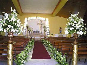 explora decoracin de boda iglesia y mucho ms