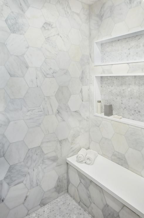 Large Subway Tile Bathroom