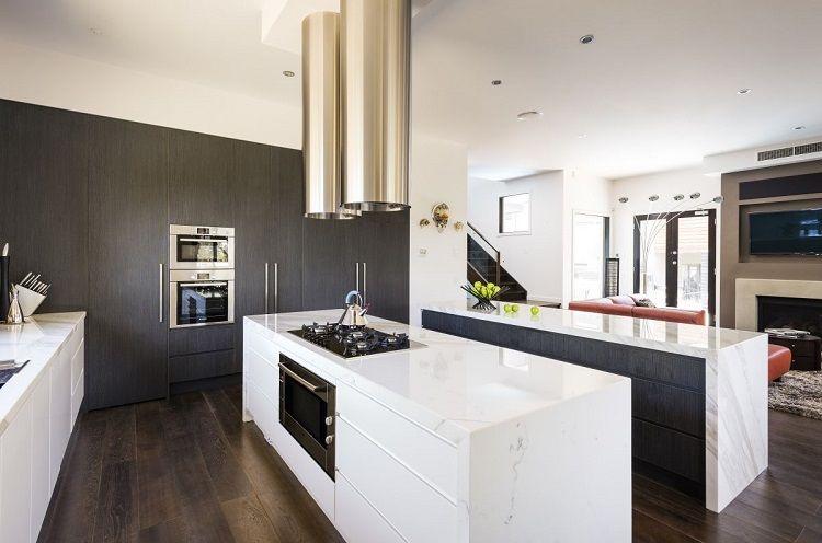 marmol ideas cocnas modernas Interiores para cocina Pinterest