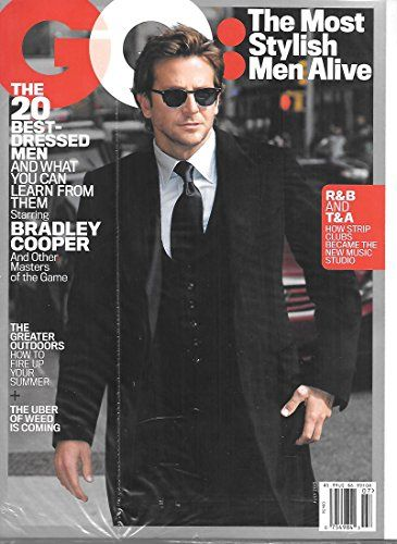 Gq Magazine July 2015 Bradley Cooper on the Cover
