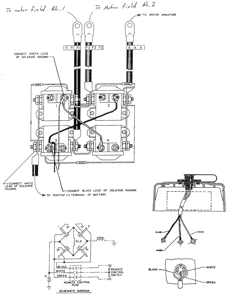 Click This Image To Show The Full Size Version Warn Winch Winch Diagram