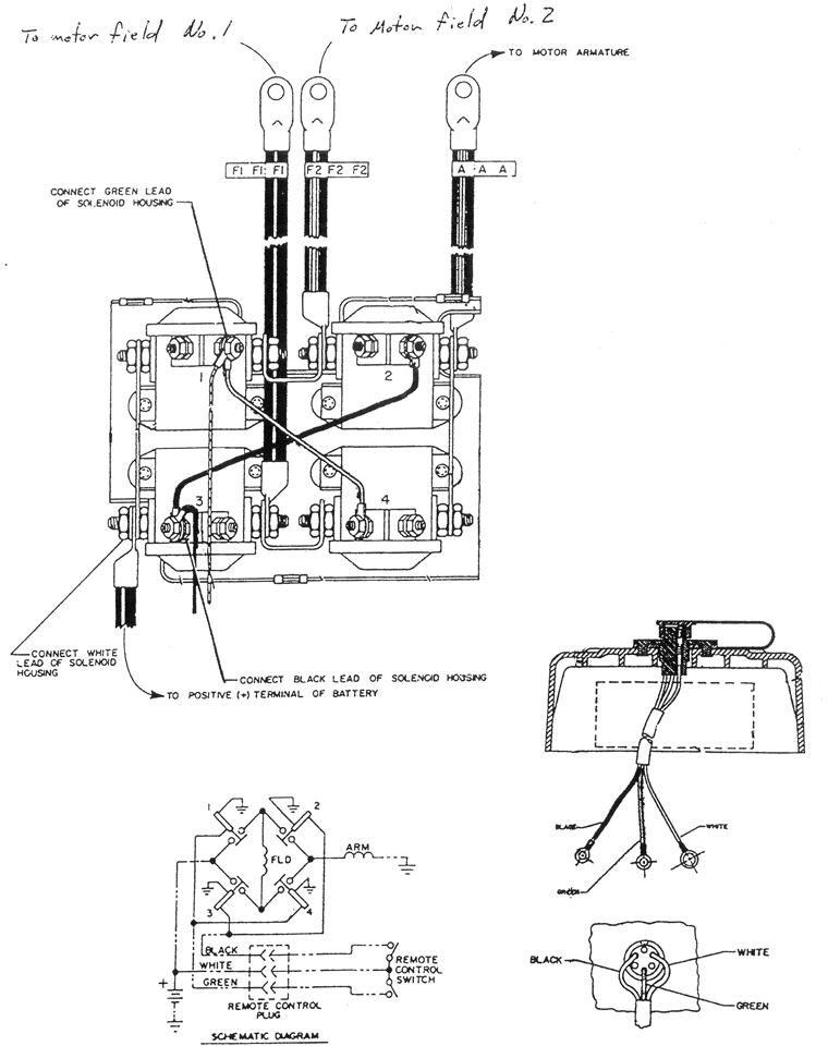 Warn Diagram Wiring Winch 1500