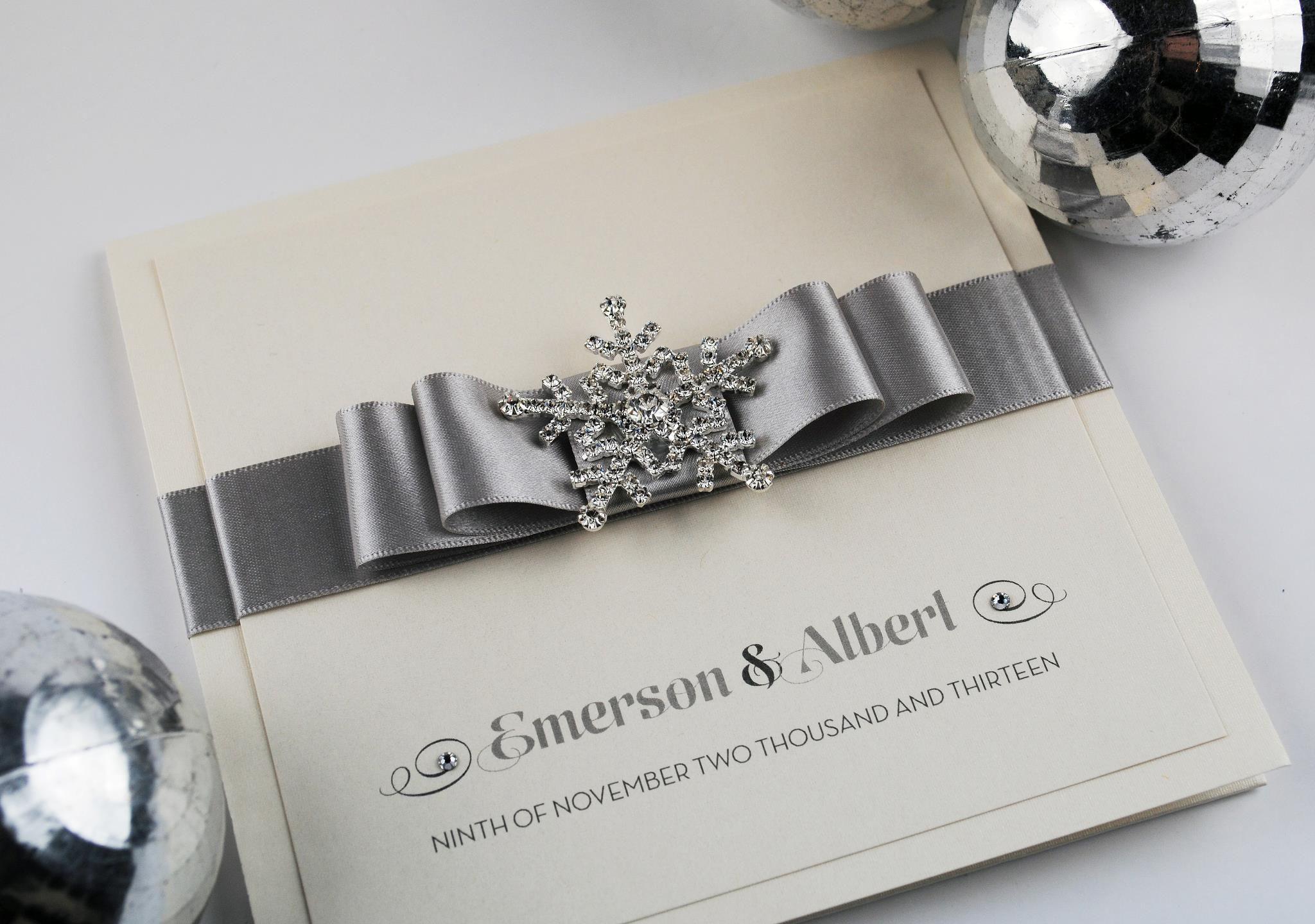 Wedding Invites Pinterest: Winter Wedding Invitation Designs Uk