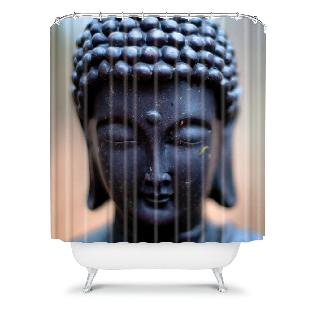 Deny Designs Home Accessories Bird Wanna Whistle Buddha Shower