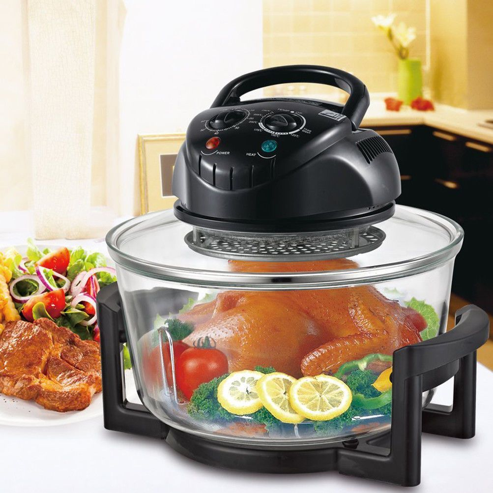 Heat Resistant Glass Bowl Convection Oven Countertop Small Kitchen Appliance Convection Countertop Oven Magic Chef Heat Resistant Glass