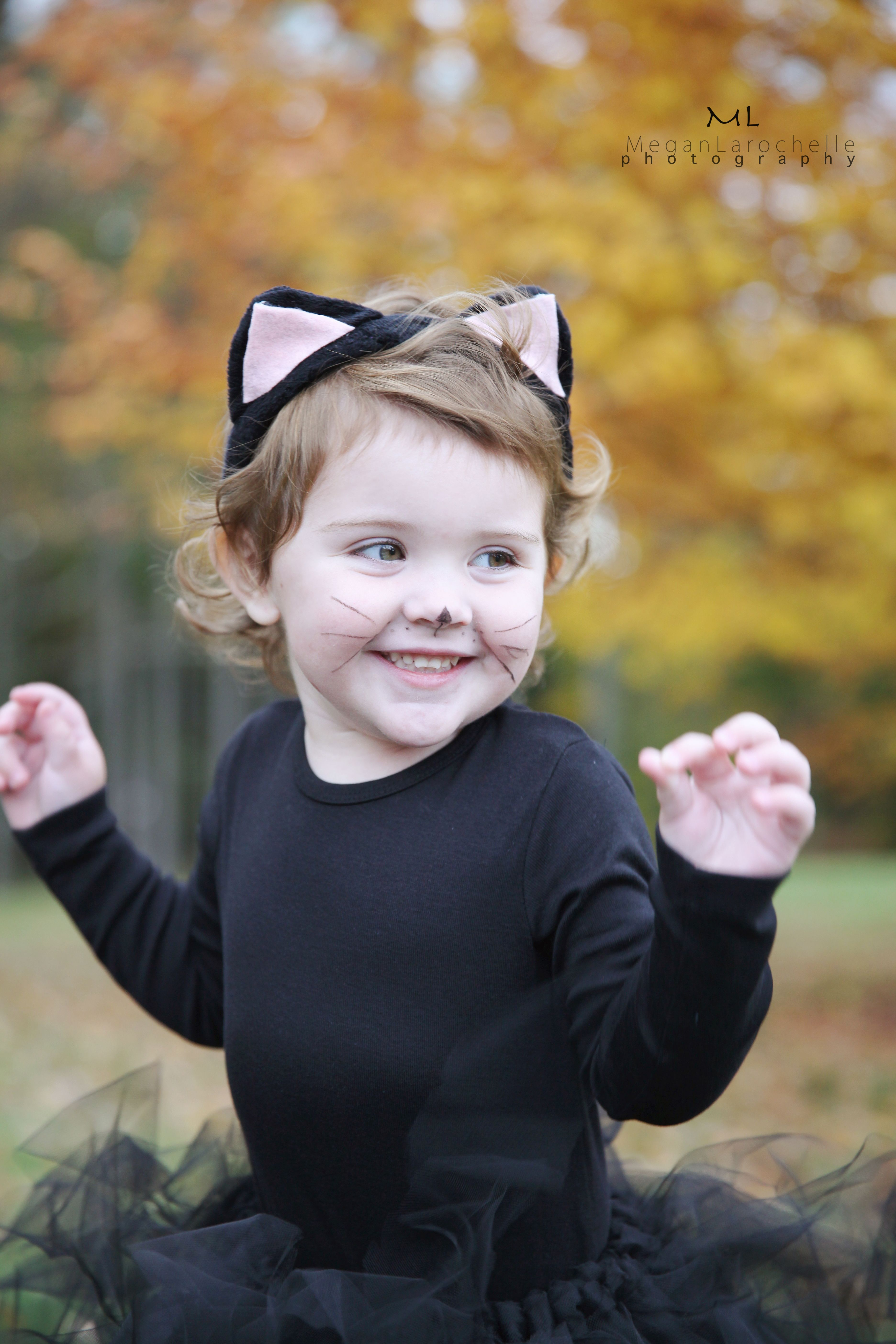 Toddler Kitten costume! So easy and cheap to make on your own. | Halloween  sc 1 st  Pinterest & Toddler Kitten costume! So easy and cheap to make on your own ...