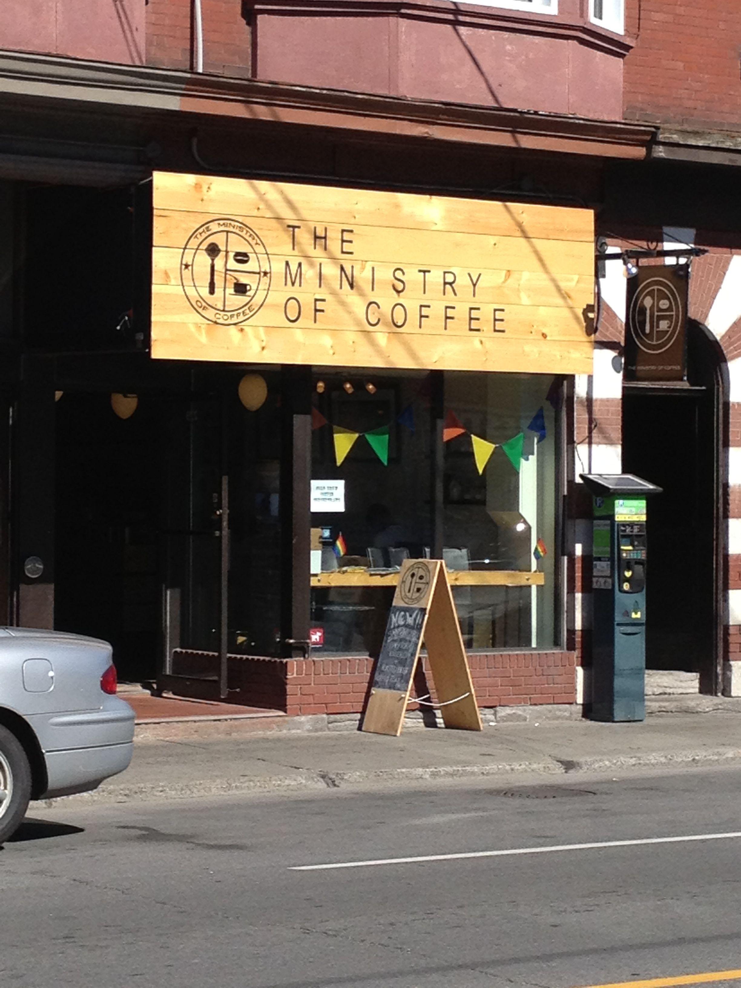 Ministry of coffee ottawa ontario coffee shop canada