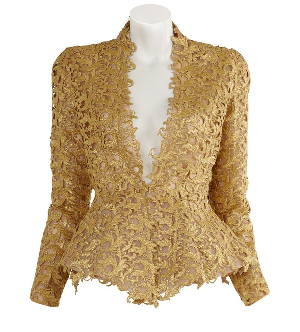 Lace Jacket - Alexandre Vauthier - Women - Designers - Fashion
