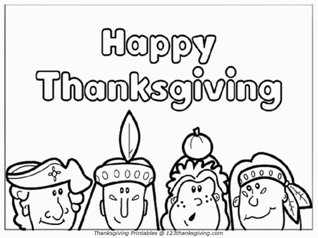 16 Free Thanksgiving Coloring Pages for Kids& Toddlers! ⋆ Simply ChaCha
