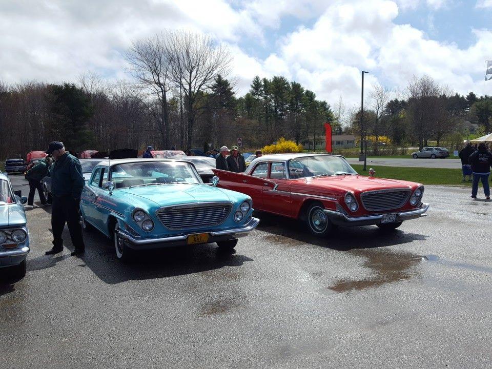 Seeing double! 2 1961 Chrysler Newport 4 doors at Medomak Valley ...