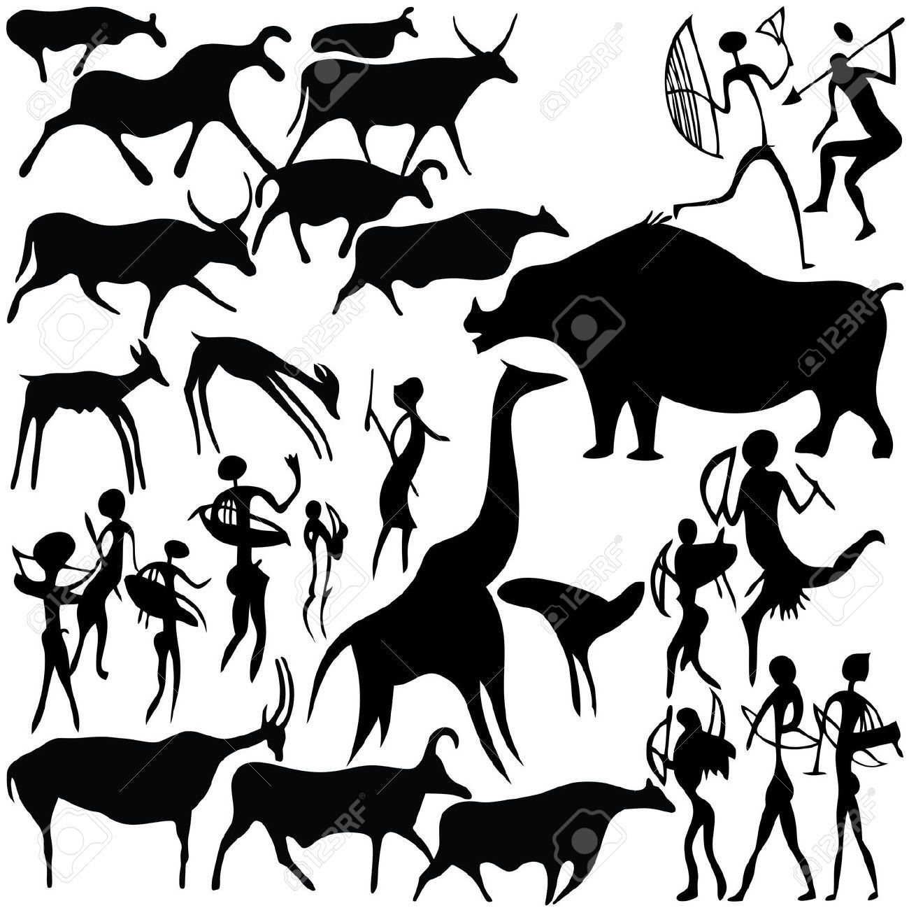 Prehistoric Animal Vectors Google Search