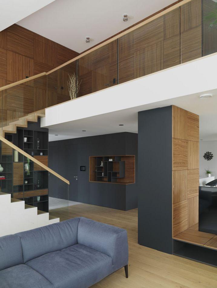 Maison pr fabriqu e passive contemporaine interiores maison pr fabriqu e pr fabriqu et maison - Maison passive design ...
