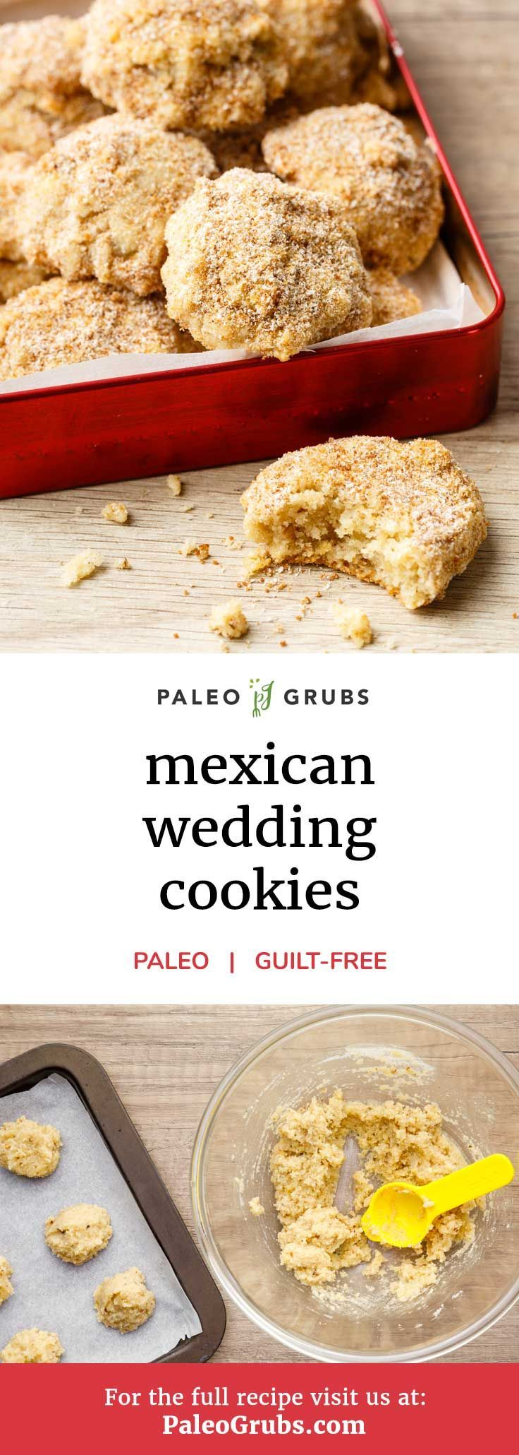 Melt in Your Mouth Mexican Wedding Cookies - -