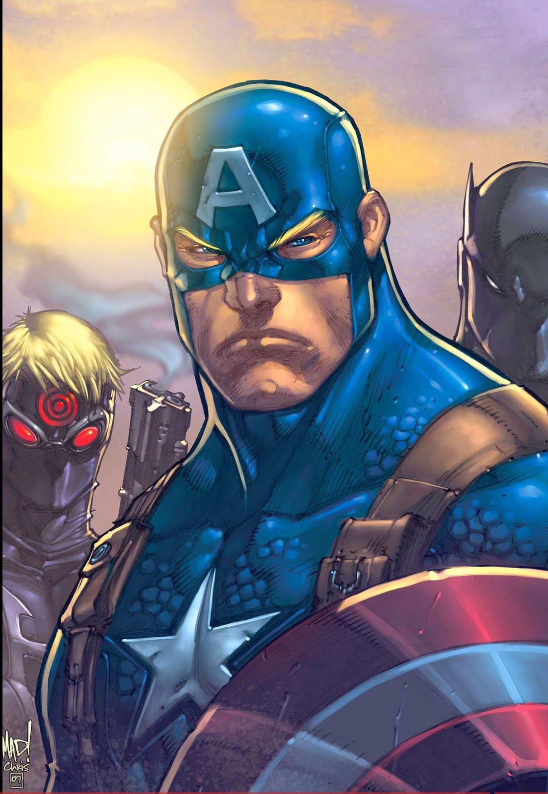 These are 5 Images about Kumpulan Gambar Captain America