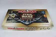 Star Wars 1999 Monopoly Star Wars Episode 1 Collector Edition 3-D Board Game