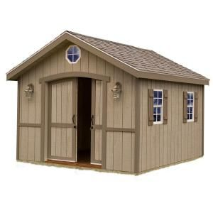 Cambridge 10 Ft X 12 Ft Wood Storage Shed Kit Includes