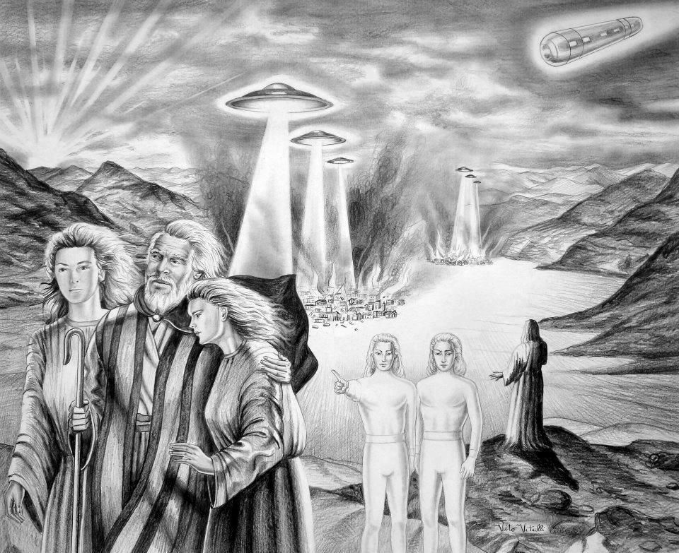 Prophet Lut and the destruction of the city of Sodom | UFO's and the