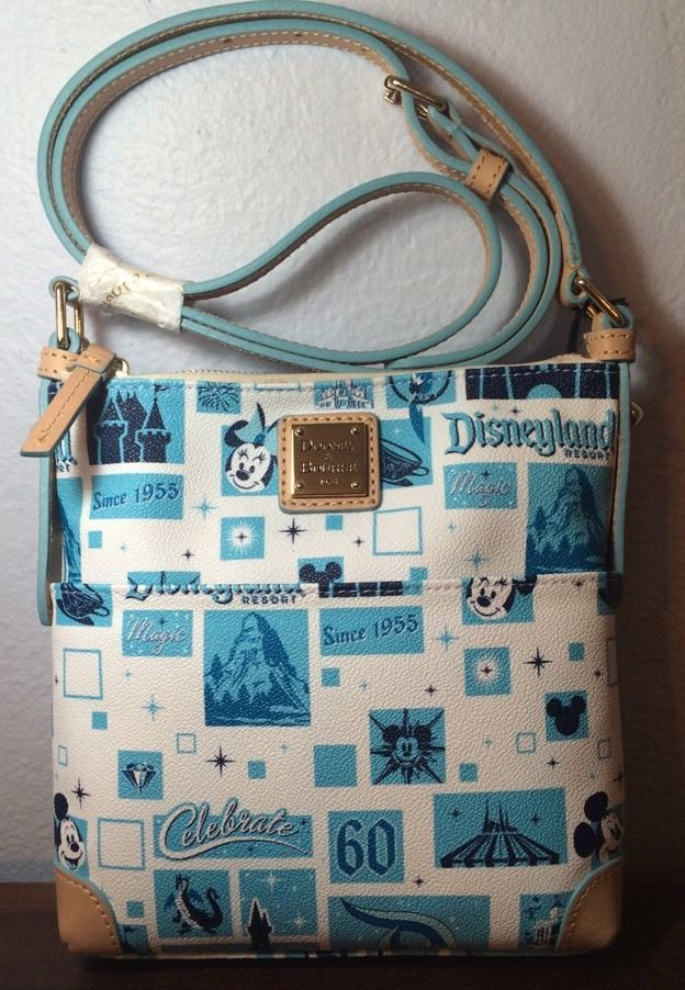 Dooney Bourke Disneyland Diamond Celebration 60th Anniversary - celebration letter