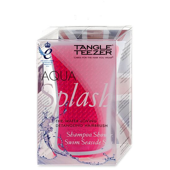 Tangle Teezer Aqua Splash Haarburste Farbe Pink Haarbursten