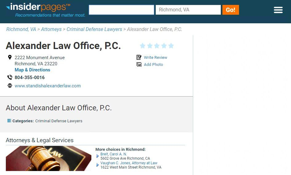 At alexander law office pc we strive to provide cost