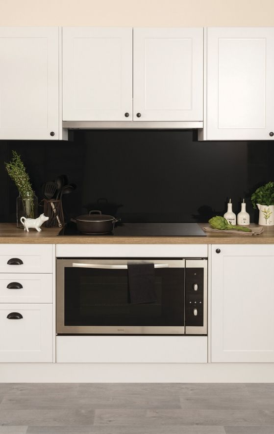 a kitchen designed with a country feel with kaboodle kitchen you can make your dream kitchen a on kaboodle kitchen microwave id=78146