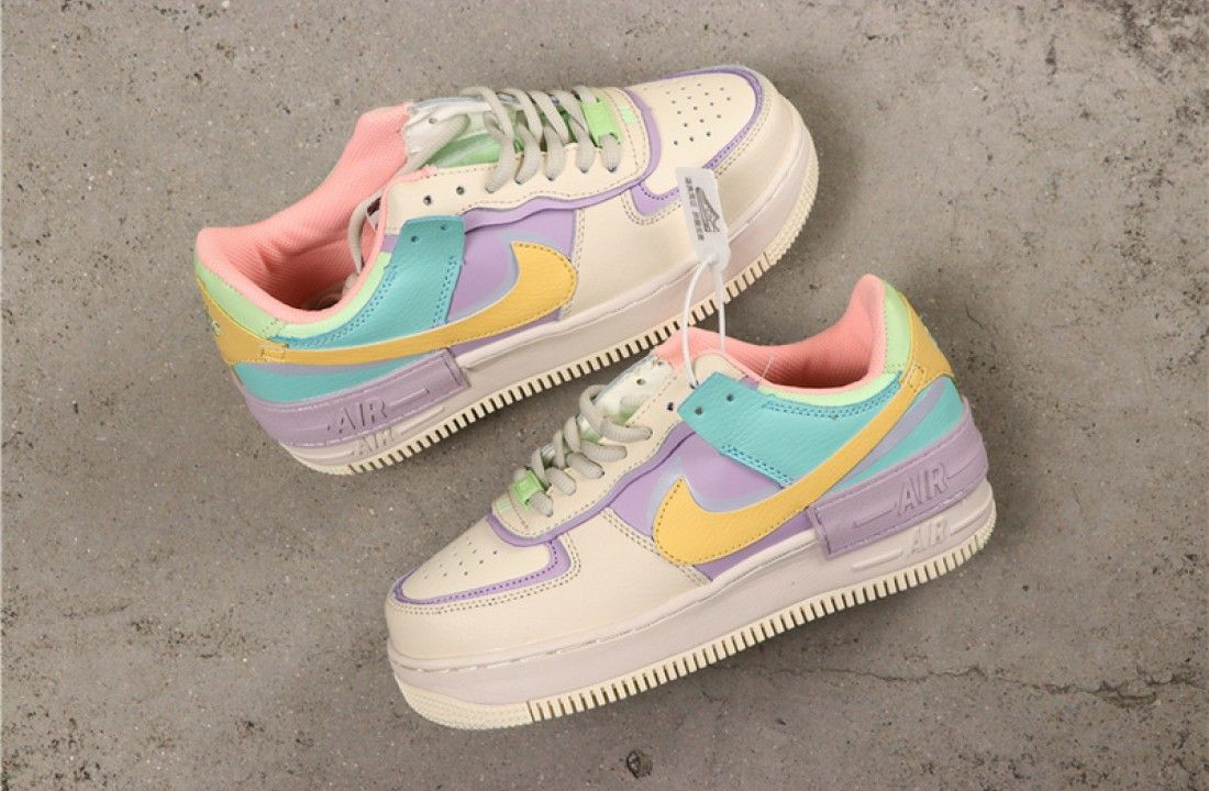 Nike Air Force 1 Low Easter Vibes Shadow Pale Ivory Ci0919 101 Nike Shoes Air Force Nike Air Shoes Custom Nike Shoes