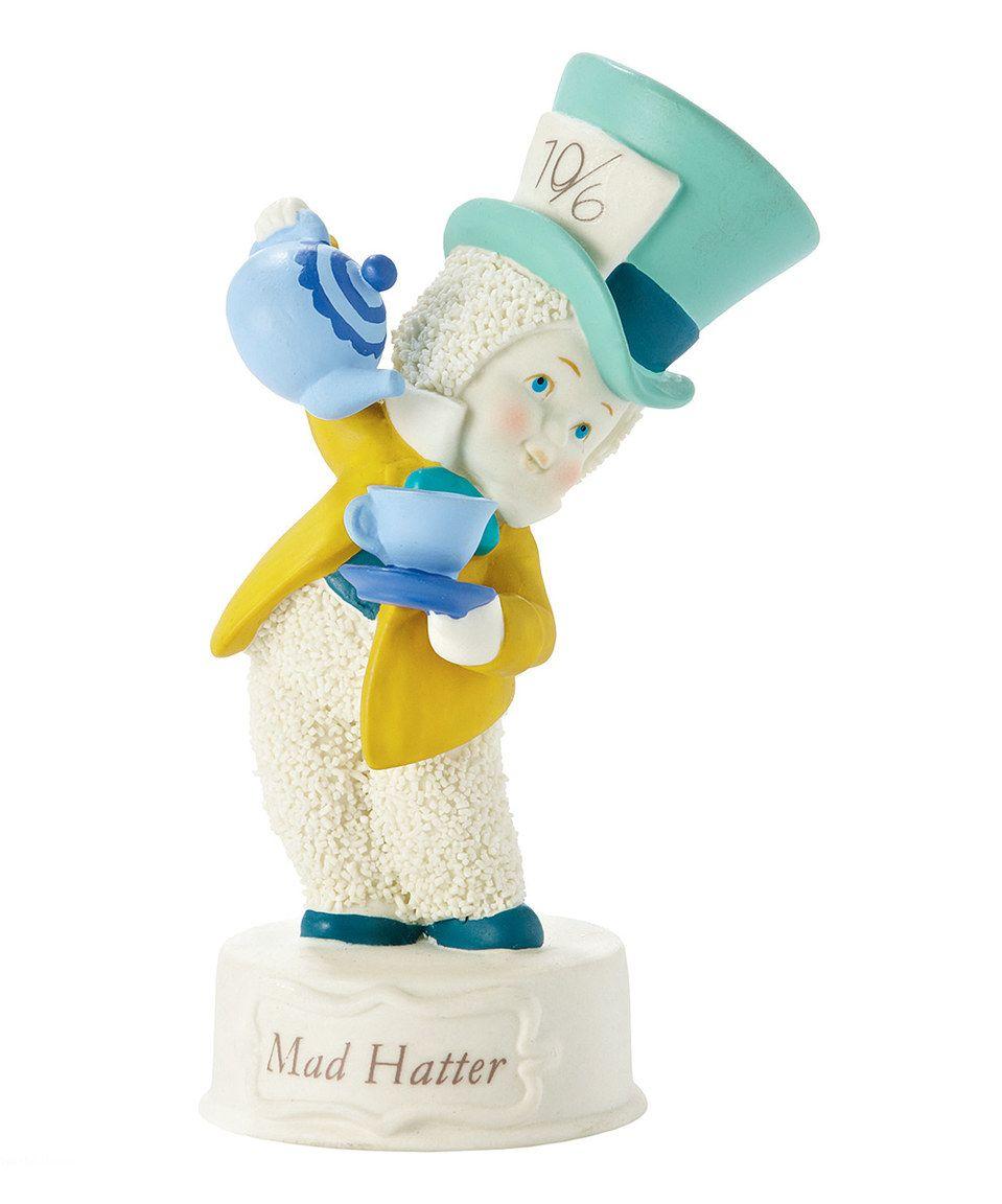Look at this #zulilyfind! Department 56 Snowbabies Mad Hatter Figurine by Enesco #zulilyfinds