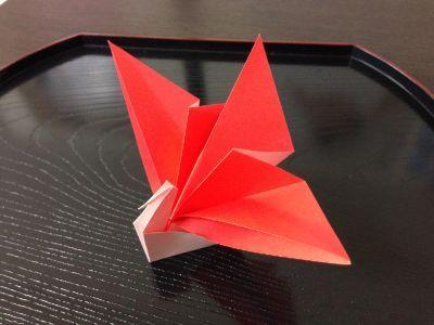 クリスマス 折り紙 鶴の折り紙 : fi.pinterest.com