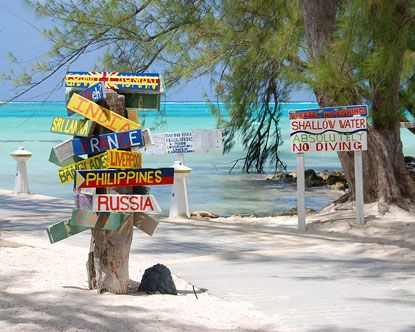 Little piece of heaven on Earth...Rum Point, Grand Cayman ...