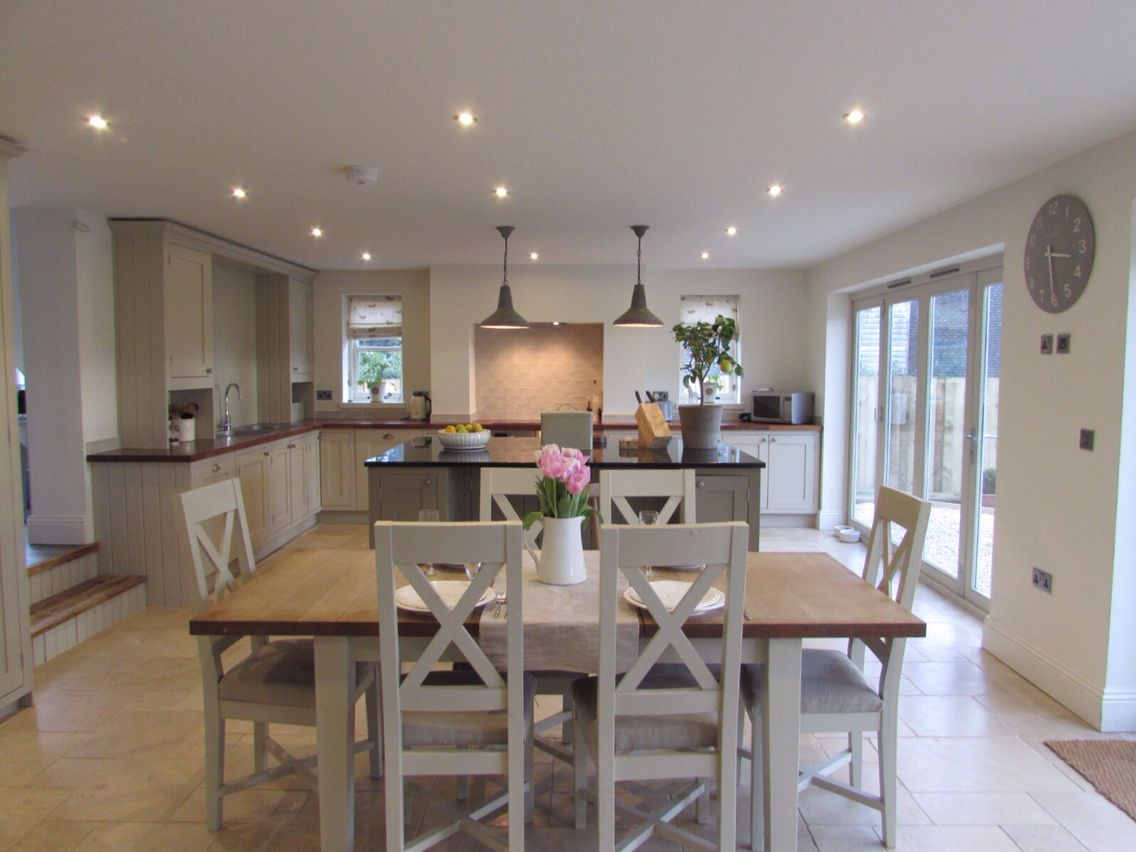 Latest Project Boldmere House Shipton Oliffe Rsj Builders Stenvall Interiors Open Plan Kitchen Diner Kitchen Designs Layout Kitchen Family Rooms
