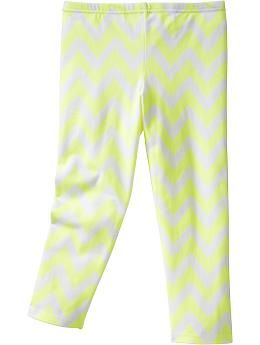 217e66818d63f Girls Printed Capri Leggings | Old Navy | Neon, Totally | Little ...