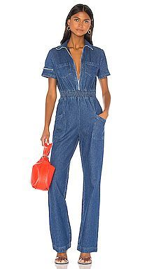 Schicker Charlie Fashion Denim Jumpsuit KENDALL KYLIE Fashion Damenbekleidung. [$130] yanatalieclothing vom Spitzenladen