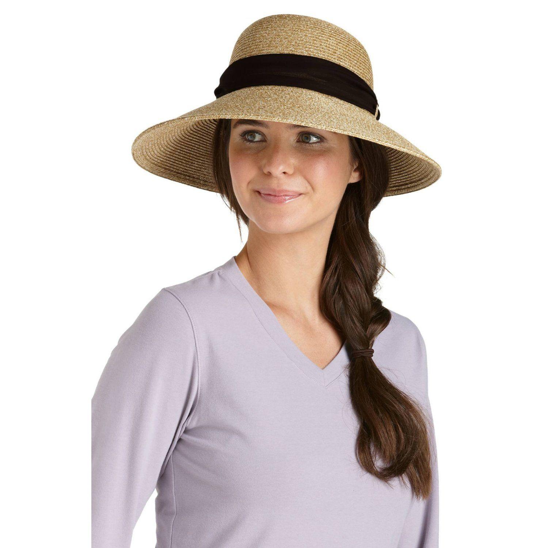 f858532a202 Coolibar UPF 50+ Women s Tropicana Sun Hat