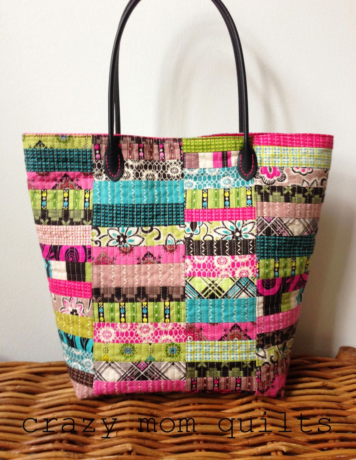 crazy mom quilts: by request | Quilted bags &purses | Pinterest ... : fabric quilted handbags - Adamdwight.com