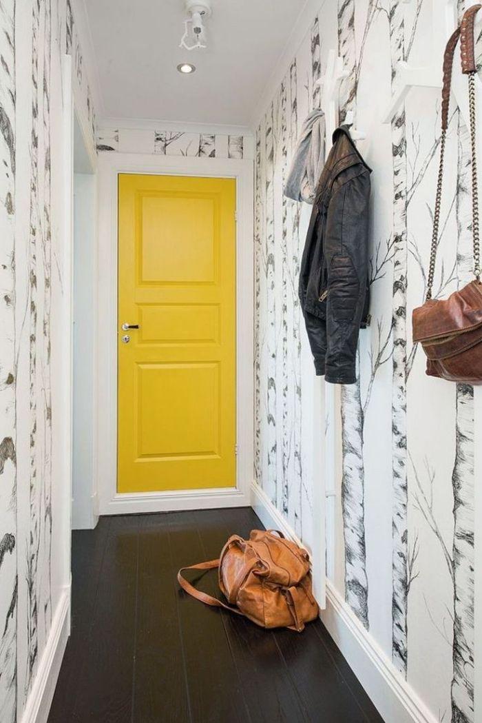 1001 id es originales comment peindre une porte. Black Bedroom Furniture Sets. Home Design Ideas