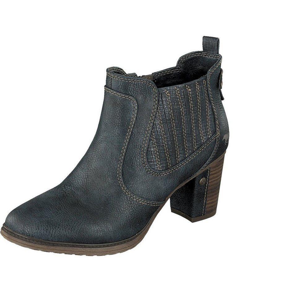 Shoes mit modischem Stiefelette Mustang Fantasydruck PiZXku