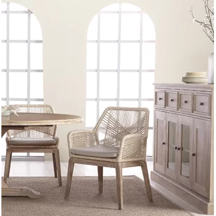 Mistana Kiley Upholstered Cross Back Side Chair Wayfair Dining Chairs Upholstered Dining Chairs Solid Wood Dining Chairs