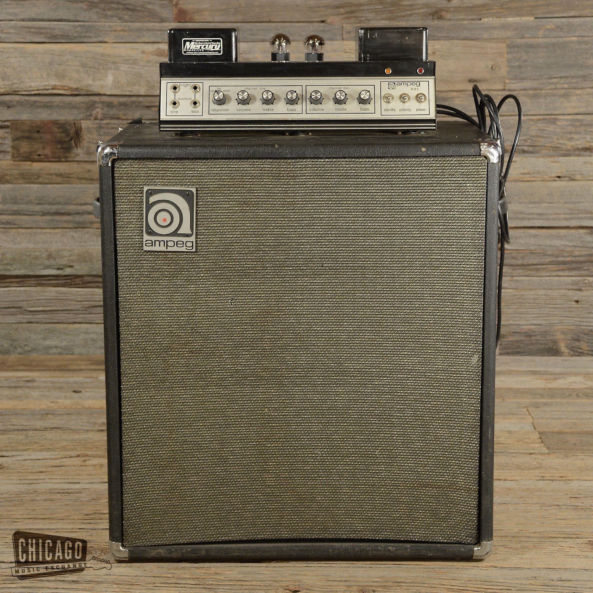 Amp vintage b15 ampeg bass