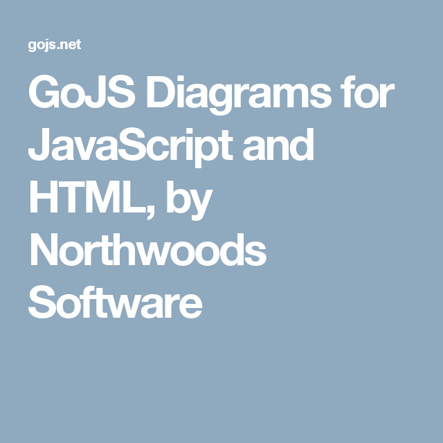 Gojs Diagrams For Javascript And Html By Northwoods Software Org Chart Javascript Graphing