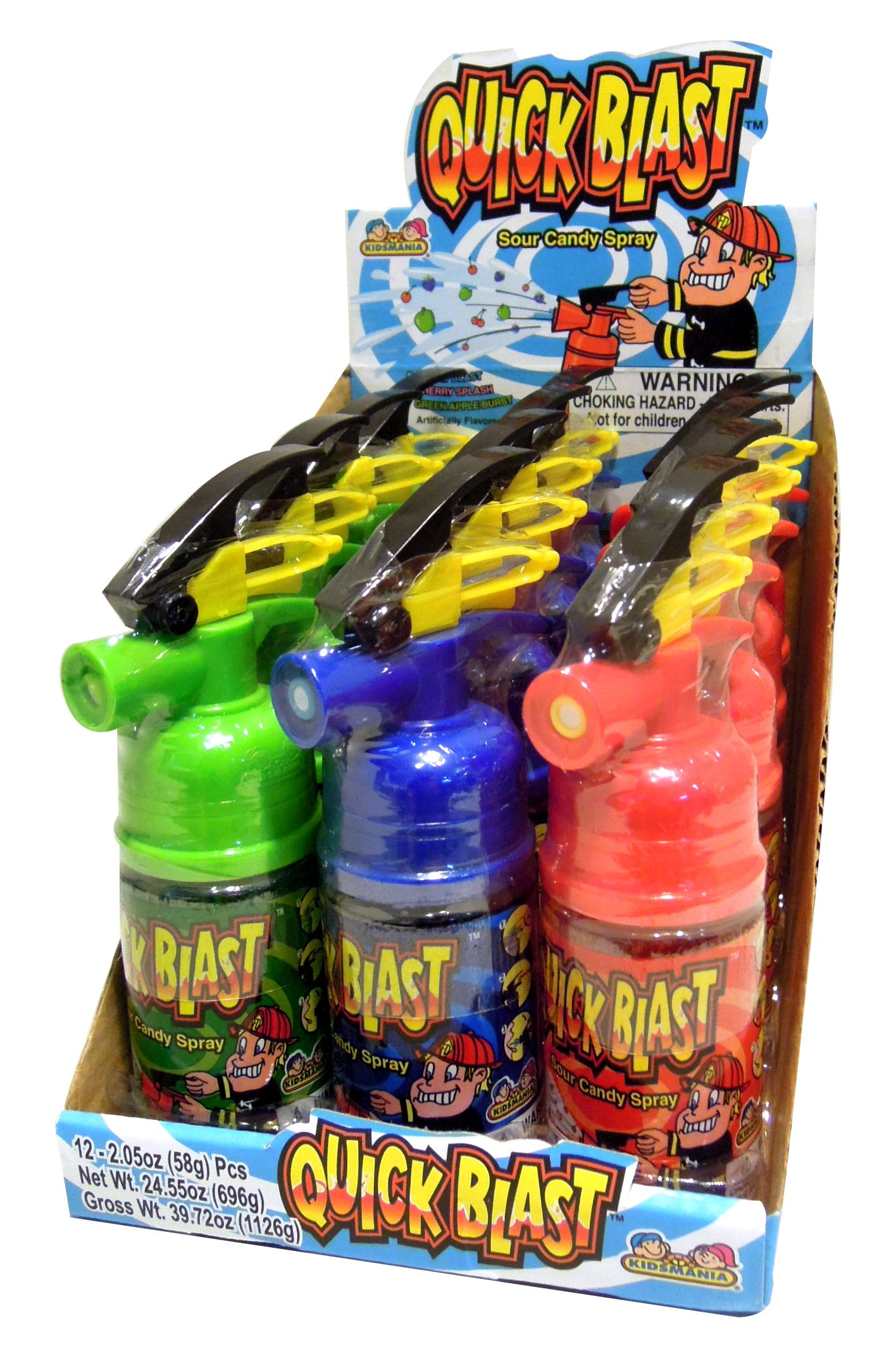 novelty candy quick blast