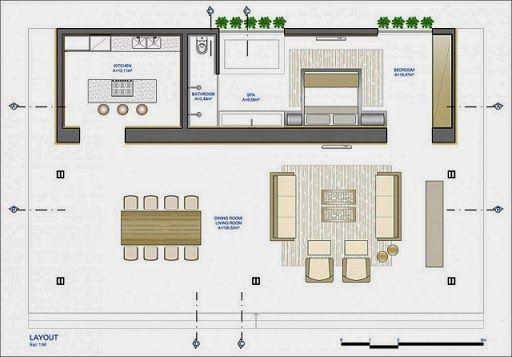 Loft Bauhaus / Ana Paula Barros | ARQUITECTURA | Pinterest | Planos ...