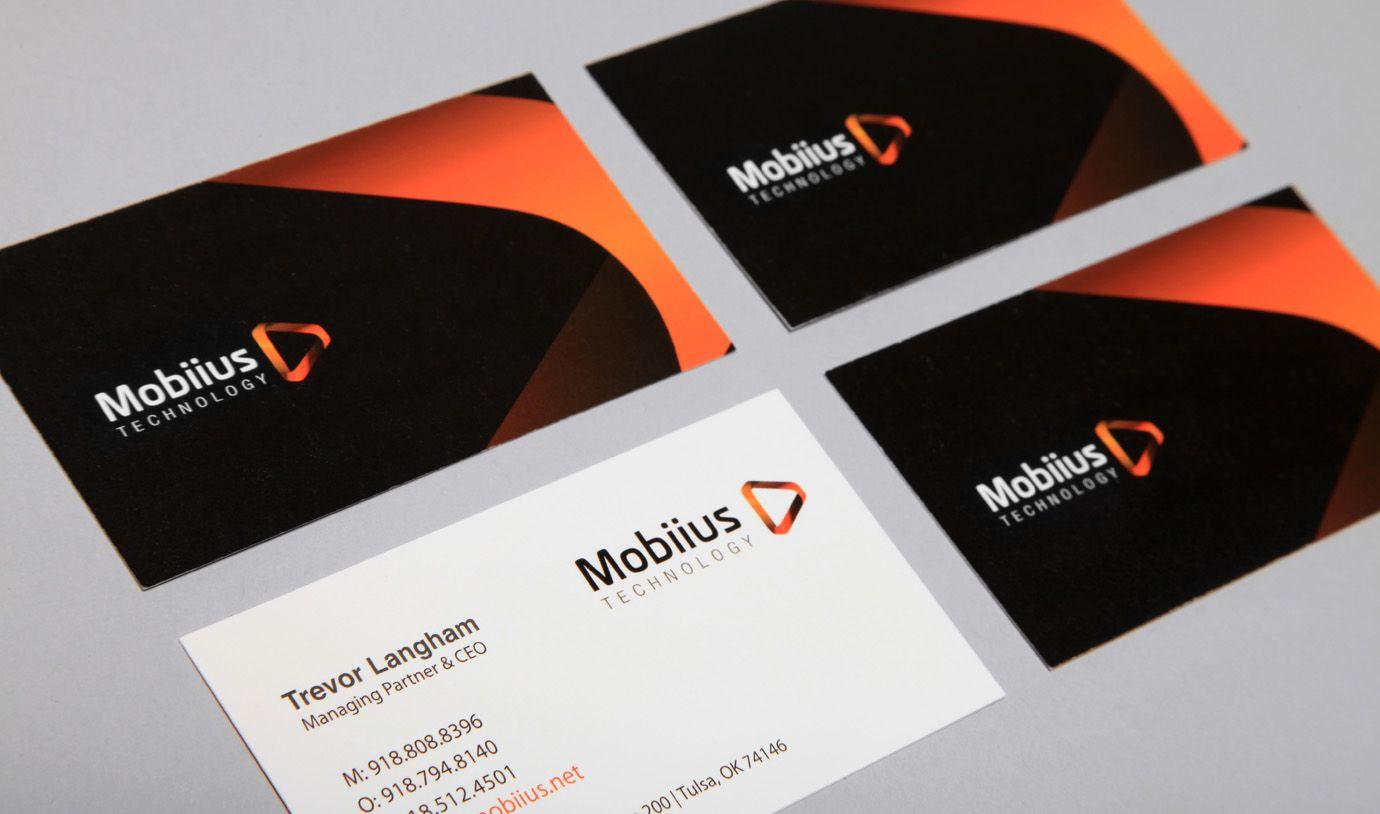 Mobiius   Business Cards   Organi Studios   Tulsa Graphic Design ...
