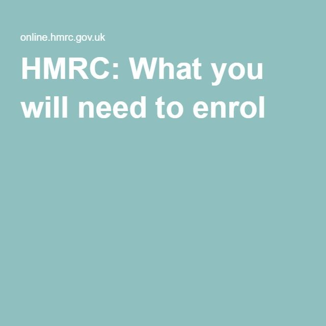 Hmrc Self Assessment Sa SelfEmployed Registration Https
