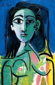 Picasso, Pablo : Buste de Femme (Jaqueline) | Picasso paintings ...