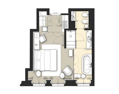 superior bedrooms milan 5 star hotel bulgari hotel resort layouts pinterest milan. Black Bedroom Furniture Sets. Home Design Ideas