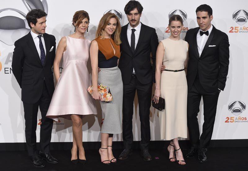 Equipo Velvet 25º Aniversario Antena 3 Moda Galerías Velvet Actors